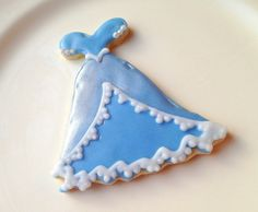 Princess Dress Cookie -Party Idea *Lace Idea*