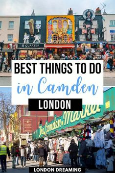 Camden is one of the most fun and weird places in London, with lots of great things to do. If you're looking for the best things to do in Camden, that go beyond just Camden Town and Camden Market, you just found them! Discover the 10 best things to do in & around Camden Town, London! #camden #camdentown #london #europe #uk #londontraveltips #camdentraveltips