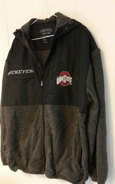OSU Buckeyes Hooded Jacket Fleece Zip Sz L Big O | Sports Mem, Cards & Fan Shop, Fan Apparel & Souvenirs, College-NCAA | eBay!