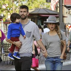 Shakira with Family in LA