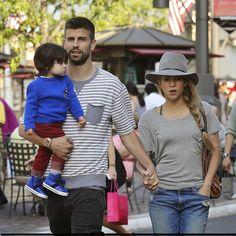 Shakira with Family in LA