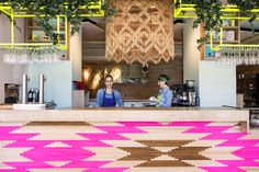This Color-Filled Cafe Has Opened In Madrid | Zeutch