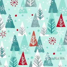 Winter forest for today's Christmas offering Ohn Mar Win