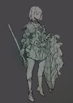 Sung-choul Ham added a new photo. Character Costumes, Game Character, Character Concept, Concept Art, Figure Sketching, 2d Art, Character Design References, Character Design Inspiration, Fantasy Characters