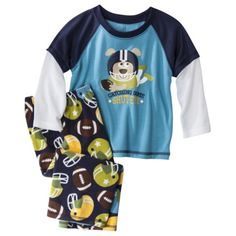 Just One You® by Carter's® Infant Toddler Boys' Pajama Set - Navy/Turquoise  $10