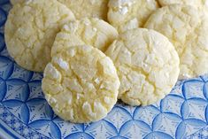 Lemon Crinkle Cookies - Refreshing and light; a little lemon can brighten any day.