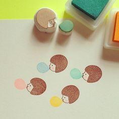 DIY #Stamps #zelfmaken #stempel in Stamp