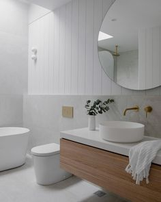 Downstairs Bathroom, Laundry In Bathroom, Bathroom Shelves, Small Bathroom, Modern Bathroom, Bathroom Color Schemes, Bathroom Trends, Bathroom Design Inspiration, Bathroom Interior Design