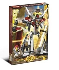 LEGO Exo Force Set Limited Gold Edition #7144 Golden Guardian by LEGO. $154.99
