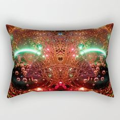 Our Rectangular Pillows are basically oversized Throw Pillows that provide a different look - suitable for the bed or couch. They're comfy enough to sleep on, and a great canvas for art.      - Available in four sizes   - 100% spun polyester poplin fabric   - Double-sided print    - Includes faux down pillow insert   - Individually cut and sewn by hand