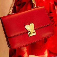 In the mood for 'L' Amour' shoulder bag. Valentino