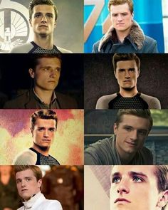 Look at how much peeta has grown to be such a serious person because of what he's been through.