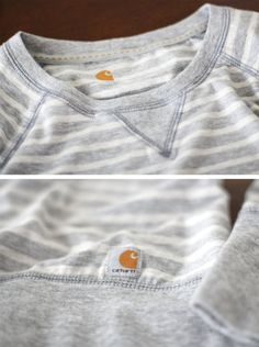 #Carhartt snuggly stripe sweater.  Ahhhh I love this. So my kinda sweater