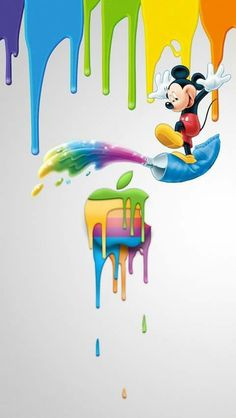 35 Ideas For Disney Wallpaper Phone Backgrounds Wallpapers Mickey Mouse Mickey Mouse Wallpaper Iphone, Apple Logo Wallpaper Iphone, Cute Disney Wallpaper, Wallpaper Iphone Cute, Cute Wallpapers, Iphone Wallpapers, Screensaver Iphone, Desktop Backgrounds, Mickey Mouse And Friends