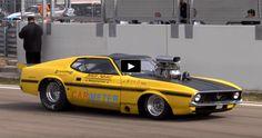 Blown 1300hp Ford Mustang Mach 1   Drag Racing