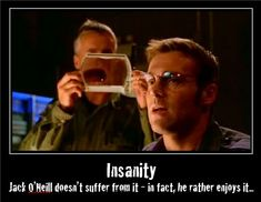 Jack may not suffer from it, but Daniel suffers from Jack's insanity constantly...