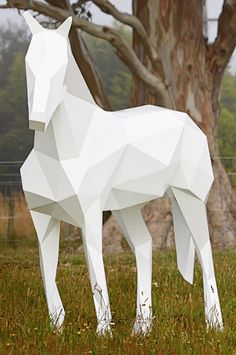 "Geometric low-poly 3D models are usually restricted to digital art, but Ben Foster builds them in metal, to put them in the offline world. Ben's an artist from Kaikoura, meaning the New Zealand landscape provides a great backdrop for his sculptures. Ben: ""My works are a culmination of the natural and the manmade - a careful balance of form and motion."""