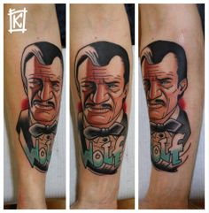 Bartok Kos - I like the style he's used here, definitely a new candidate for my own Pulp Fiction tattoo..