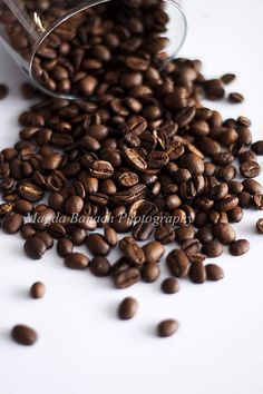 Coffee Beans Food Photography Print Poster Art Wall Decor