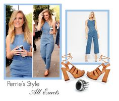 """Perrie Edwards Inspiration"" by patricia-1d ❤ liked on Polyvore featuring ASOS, littlemix, denim and perrieedwards"