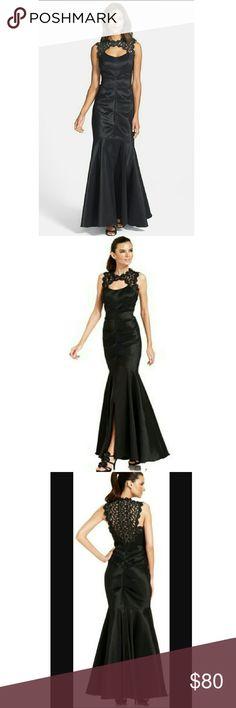 Xscape dress black Xscape dress black lace and taffeta mermaid gown. Xscape Dresses Prom