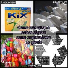 Desperte a Criatividade : Dicas para reutilizar materiais recicláveis como o...