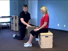 Egoscue - Sitting Knee Pillow Squeezes (Good exercise for lower back pain)