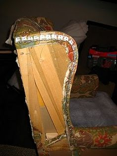Chair Upholstery tutorial