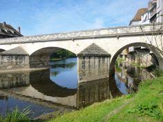 le vieux pont à Argenton sur Creuse (36)