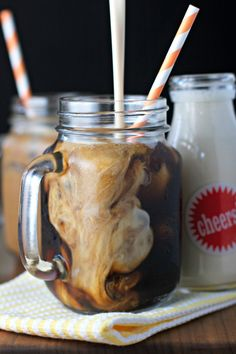 Amaretto Coffee Creamer - Vegan 4 ingredient coffee creamer. So simple to make!