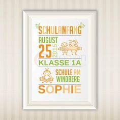 Einschulung   Schulanfang   Schulkind   Namensbild