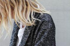 Nili Lotan oversized blazer. By Mija