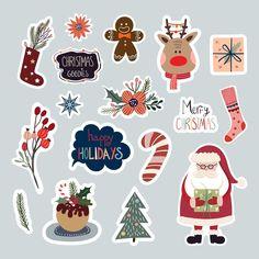 Christmas Labels, Christmas Stickers, Christmas Wrapping, Christmas Greetings, Christmas Crafts, Tumbler Stickers, Cute Stickers, Christmas Tree Decorations Sets, Minimalist Christmas Tree