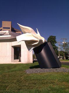 """The Architect's Handkerchief,"" Claes Oldenburg, Kemper Museum, Kansas City, MO"