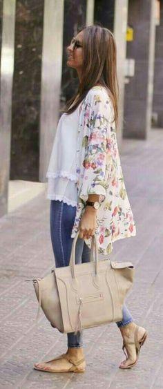 Chiffon Kimono Cardigan