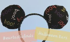 Disney Halloween Ears, Halloween Images, Disney Ears, Spooky Halloween, Glue Crafts, Hand Sewing, Disneyland, Traditional, Unique