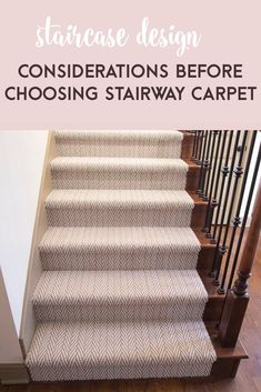 I'm sharing some tips and tricks on how to design a staircase so then when you renovate your own, you know what type of stair design is traditional, modern, and other things you might not know about staircases until now. Staircase Wall Decor, House Staircase, Staircase Remodel, Staircase Makeover, Staircase Design, Stair Design, Stairway Carpet, Types Of Stairs, Cow House
