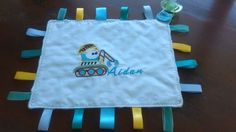 Personalised-Taggie-Lovey-with-Applique-and-Name-Handmade-Dummy-Holder Blankets, Applique, Toys, Baby, Handmade, Ideas, Hand Made, Newborns, Carpet