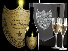 Dom Perignon Vintage 2002 Two Glass Gift Pack