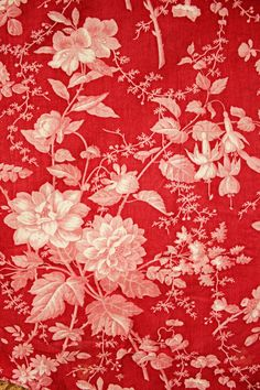 Antique French Textile ca. 1860