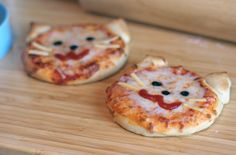 Kitty Pizza for Toddlers by LoveBones, via Flickr