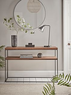 NEW Frame Slim Console Table - Console Tables - Luxury Modern Tables - Modern Home Furniture Slim Console Table, Console Table Styling, Small Console Tables, Marble Console Table, Entryway Console Table, Mirrored Coffee Tables, Narrow Hallway Table, Entry Hallway, Modern Home Furniture