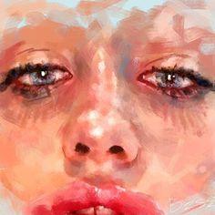 Reinventing Annita II 😈 #workinprogress daily sketch . . . . . #painting #artwork #fineart  #contemporaryart  #portraitart #illustration #nudeart #digitalpainting #photoshop #wacom #digitalart  #artfido #artoftheday #artstation #artmagazine #artstarsmag #arts_gate #lovewatts #ratedmodernart #_tebo_  #instaart  #artcollective2016 #dailyarts #ivanabesevic #juxtapozmag #highfructose #beautifulbizarre