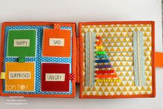 Handmade cloth quiet busy book for Sergio, развивающая книжка