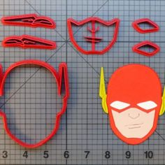 The Flash Cookie Cutter Set