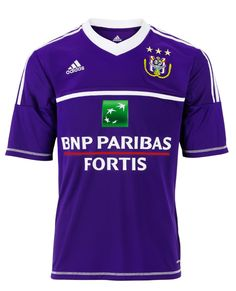 RSC Anderlecht Home Kit 2012-13 Adidas
