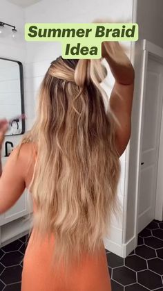 Work Hairstyles, Easy Hairstyles For Long Hair, Pretty Hairstyles, Long Hair Updos, Medium Hair Styles, Curly Hair Styles, Hair Upstyles, Hair Due, Wie Macht Man