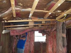 Remodeling Mobile Home Walls | ... family,such hard workers it was over 100 degrees in the mobile hom e