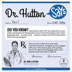 Learn more at http://www.readaloud.org/drhutton.html