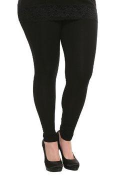 Torrid Plus Size Basic Black Leggings